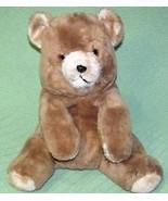 "Vintage OLIVER TEDDY RUSS BERRIE 15"" BEAR Plush Stuffed Animal Tan Grump... - $32.71"