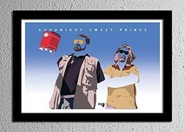 Big Lebowski The Dude Walter Donny - Original Minimalist Art Poster Print - $27.45