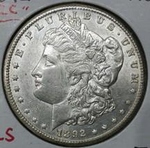 1892CC MORGAN SILVER ONE DOLLAR Coin Lot # E 5