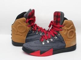 Nike KD VI Lifestyle QS [621177-400] Casual Denim SZ 9.5 Kevin Durant Shoes - £30.39 GBP