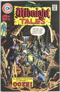Primary image for Midnight Tales Comic Book #7, Charlton Comics 1974 VERY FINE+
