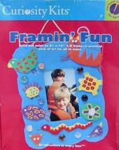 CURIOSITY KITS Framin' Fun BUILD A FUNKY 3-D FRAME  (NIP) - $9.85