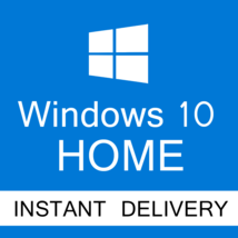 1 PCS 5 User MICROSOFT WINDOWS 10 HOME 32/64 BIT - $35.95