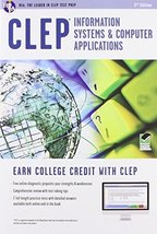 CLEP® Information Systems & Computer Applications Book + Online (CLEP Te... - $11.97