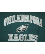 Philadelphia Eagles NFL Team Apparel Men's Green T-Shirt-XL - $26.68