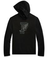 Ralph Lauren P-Wing Performance Hooded Shirt Black  LARGE - $41.58