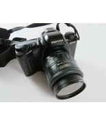 Pentax ZX-10 Professional 35mm Film Camera w/ 35-80 Zoom Lens, for Parts... - £14.51 GBP