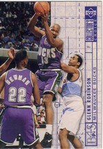 1994-1995 Upper Deck Collector's Choice Card Glenn Robinson #386 Blueprint Bucks - $3.95