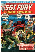 Sgt Fury and His Howling Commandos 108 VFNM 9.0 Marvel Comics First Series 1972 - £10.33 GBP