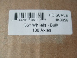"""Intermountain #40056  Wheels 36"""" Code 110 100 Axles Per Pack HO Scale image 2"""