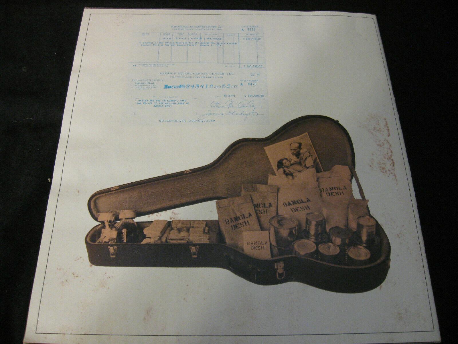 George Harrison Concert For Bangladesh Apple STCX 3385 Stereo 3 LP Vinyl Record