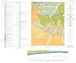 Mine Map - Titsworth Gap Quad Wyoming - Roehler 1973 - 23.00 x 27.73 - $36.58+