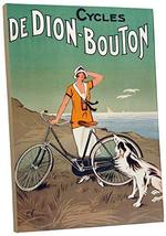 "Pingo World 0616QPJU0V4 ""Cycles De Dion-Boston Vintage"" Advertising Poster Galle - $138.55"