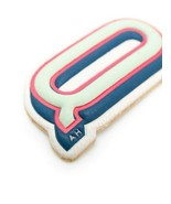 Anya Hindmarch Letter Q Sticker Anya Hindmarch Chalk Multicolour - $14.84