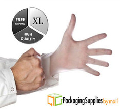 100 Vinyl Disposable Gloves Powder Free 4.5 Mil Thick Latex Nitrile Free... - $8.50