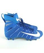 Nike Vapor Untouchable 3 Elite Cleats Blue White AH7409 414 Men's 15 New - $78.09