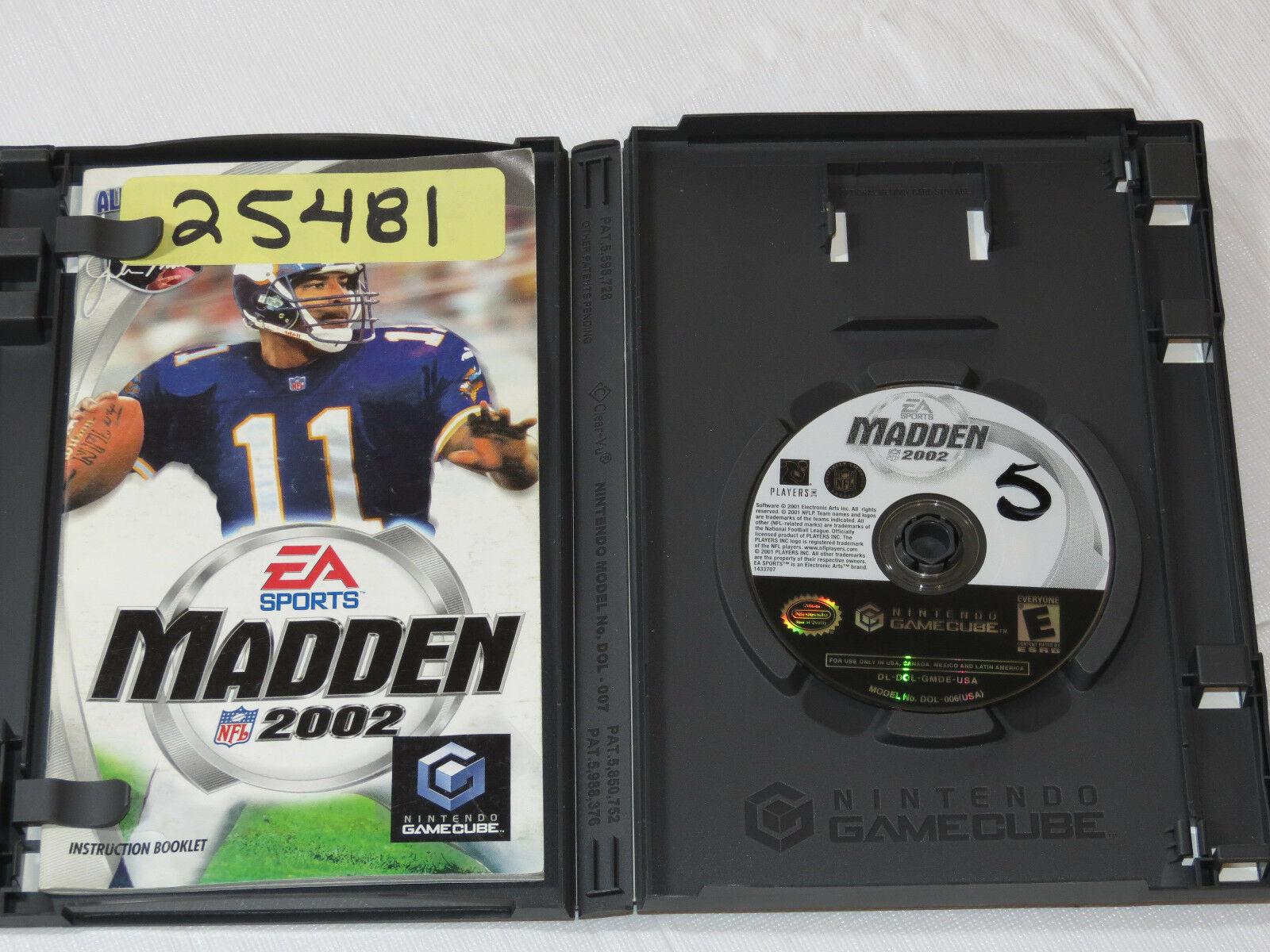 Enloquecer NFL 2002 Nintendo Gamecube 2001 Fútbol Videojuego E-Everyone 25481 image 4