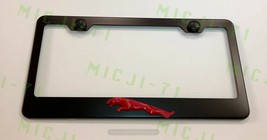 3D Jaguar Emblem Stainless Steel License Plate Frame Rust Free - $22.99