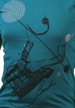 Bench Mens Sea Green Leader Live Concert Studio Soundboard Mixer T-Shirt NWT image 2