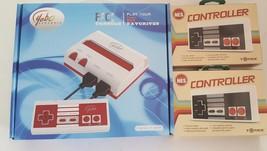 rot/weiß Videospiel System Spiele Nintendo Spiele + 2 extra NES Tomee Pads - $35.01