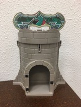Playmobil 4775 Carry Take Along Green Dragon Knights Tower Castle Retire... - $9.89