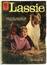 Lassie #57 1960- Collie cover- Dell Silver Age G+ - $37.83