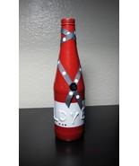 "Decorative ""LOVE"" Red 12oz Bottle Home Decor Vase BONUS Gift Box - Handc... - $13.12"