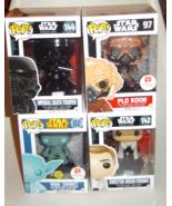 Four Star Wars Funko Pop Yoda Spirit Plo Koon Orson Krennic Death Trooper - €20,32 EUR