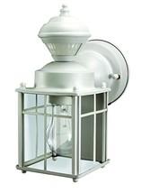 Heathco HZ-4132-MW White Bayside Mission Style Motion Activated Lantern - $49.19