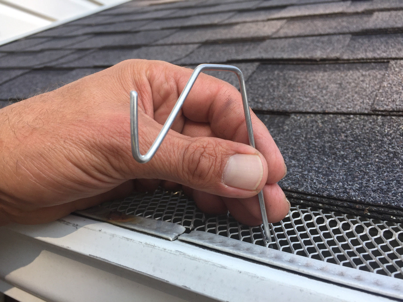 (4 pkg) 50 ct Christmas Hook for gutters with mesh or perforated gutter guard - $45.50