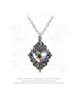 Crystal Heart Pendant by Alchemy Gothic - $24.70