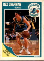 Rex Chapman 1989-90 Fleer Rookie Sensation Card #15 - $0.99