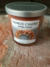 Yankee Candle Simply Home Pumpkin Berry Jar Candle, 7 oz. - $16.78