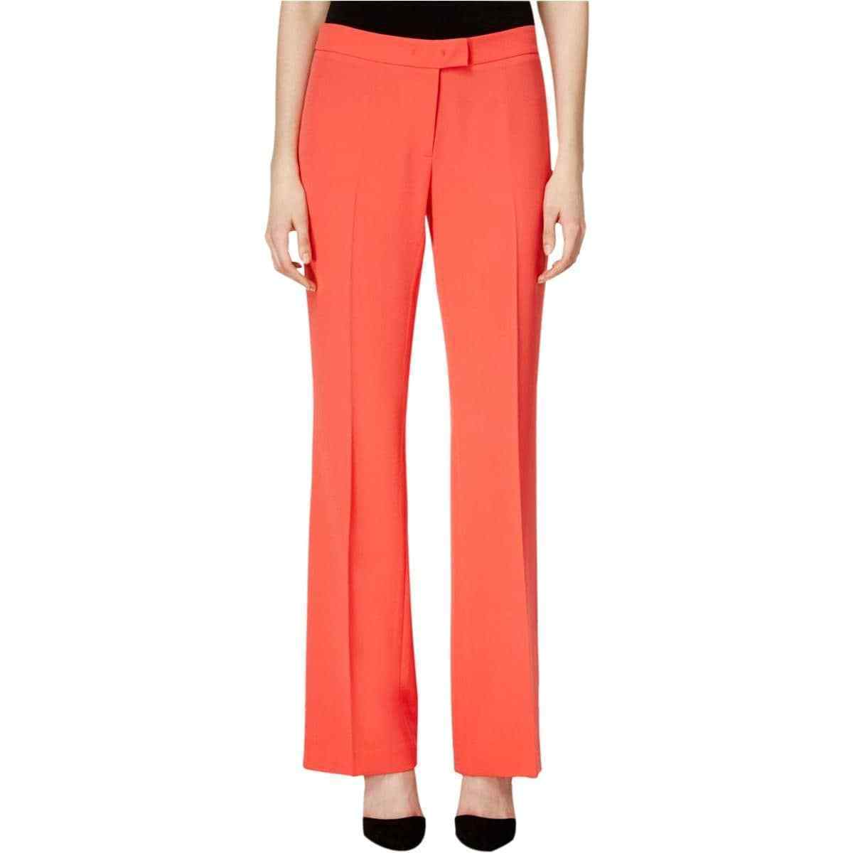 6970-2    Anne Klein Women's Dress Pant, Red, 2  $79