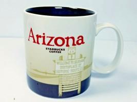 Starbucks ARIZONA 2011 Collector Coffee Mug 16 oz Seligman Birthplace Ro... - $9.89