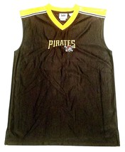 Pittsburgh Pirates Vintage Basketball Style Jersey Boys Xl 18/20 By Lee Sports - $12.00