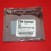 Yellow Toner reset chip Konica MINOLTA BIZHUB C452 C552 C652 cartridge refill - $6.99