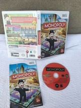 Monopoly Nintendo Wii Complete Very Nice Condition - $14.85