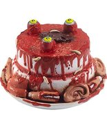 Smiffys 46934 Latex Gory Gourmet Zombie Cake Prop, Red, One Size - $28.69