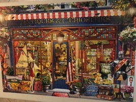 Buffalo Games Jigsaw Puzzle 2000 Pieces Antiques and Curiosities with Poster image 2