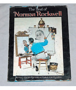 1979 Norman Rockwell Best 40 Couleur Affiches pour Encadrement Couvertur... - $17.45