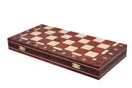 Ambassador-Handmade-Wooden-Chess-Board (Without Pieces) - $59.84