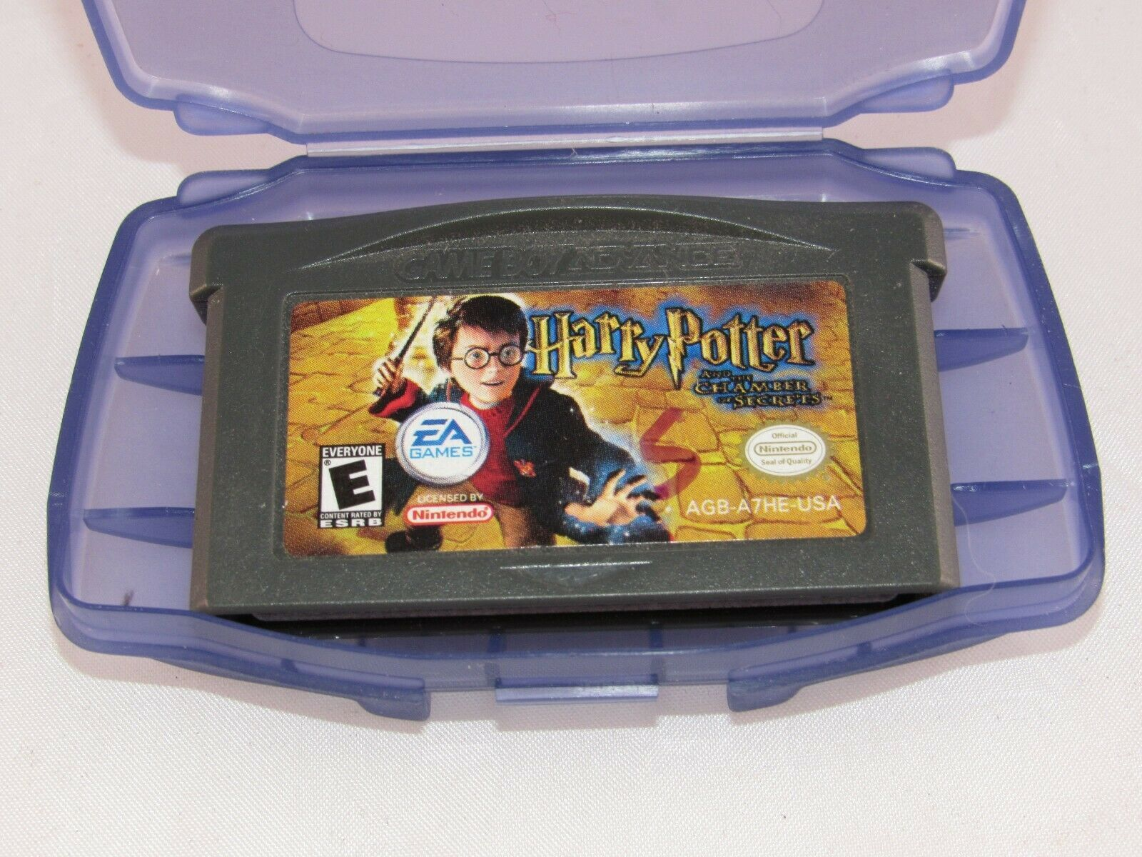 Harry Potter and the Chamber of Secrets (Nintendo Game Boy Color, 2002)