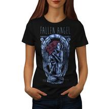 Fallen Angel Art Fashion Shirt  Women T-shirt - $12.99