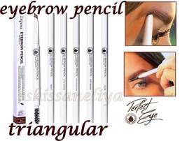 DEPEND Eyebrow Pencil with Brush Triangular Diferent Shades Waterproof  - $12.39