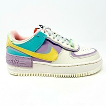 Nike Air Force 1 AF1 Shadow Pale Ivory Celestial Gold Womens Size 5 CI0919 101 - $299.95