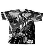 Star Wars Darth Figure The Darkness Collage Body Print Small T-Shirt, NE... - $19.34