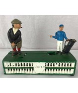 Vintage Cast iron mens metal figural golfer in Taiwan  - $27.90