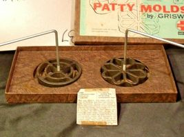 Patty Molds by Griswold AA-191762  Antiques image 3