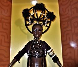 Barbie MOJA Barbie Treasures of Africa by Byron Lars 1st in the Series MIB image 9